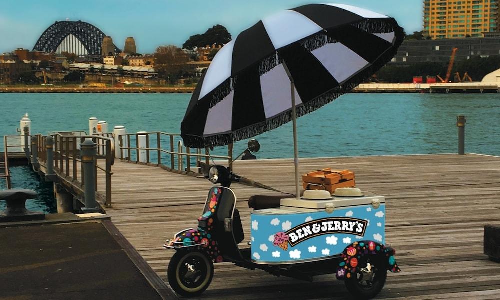 Ice Cream Scooter