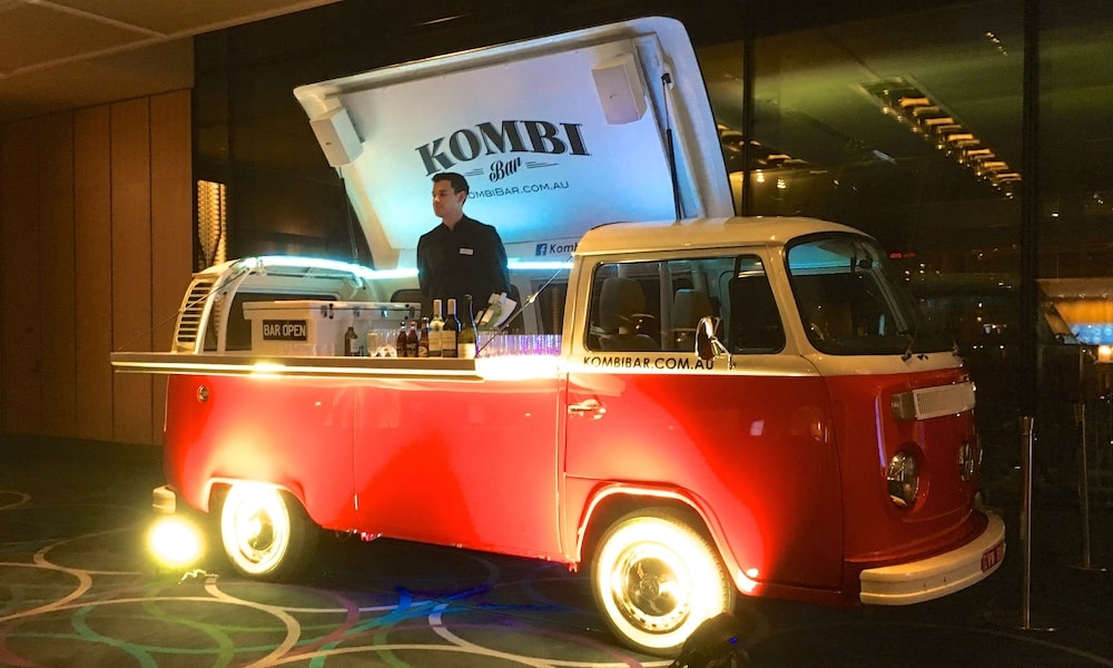 Mobile Champagne Bar