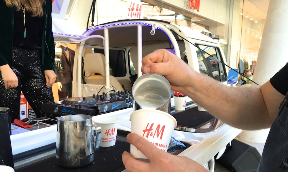 Mobile Coffee Kombi Van