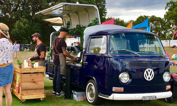Kombi Mobile Coffee Van Hire