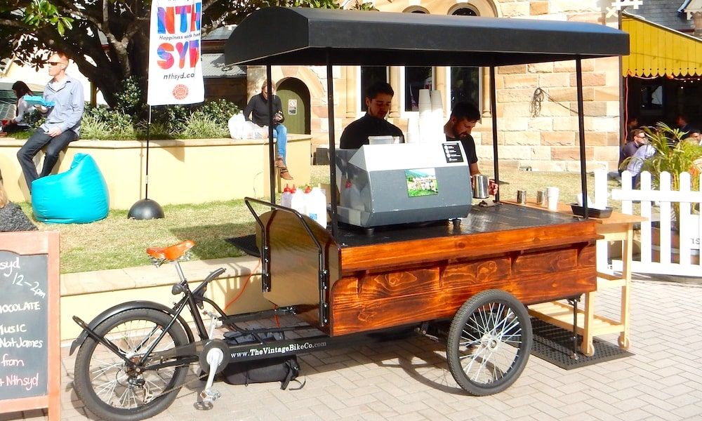 Mobile Coffee Cart Hire Sydney