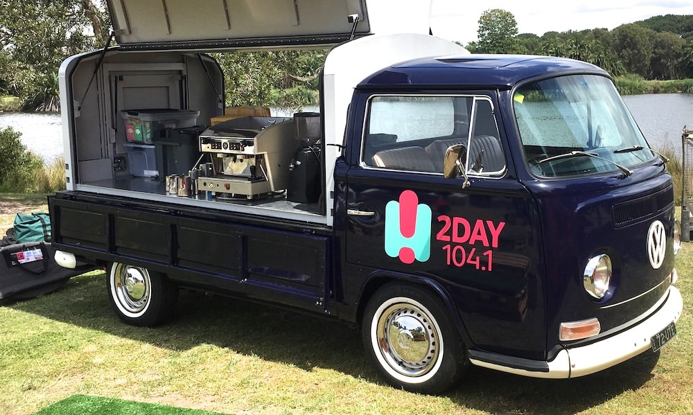 Mobile Coffee Van Hire