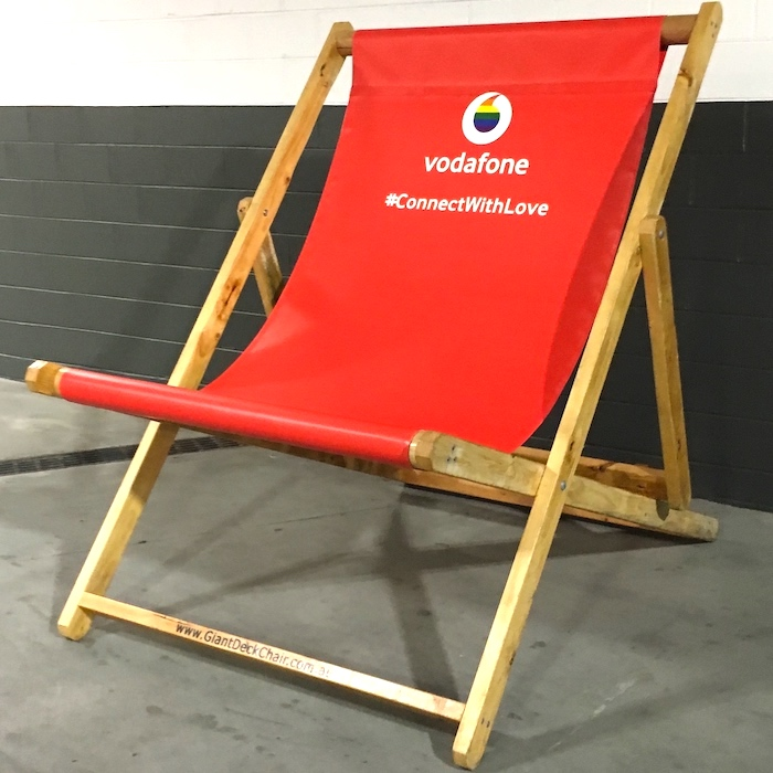 Branded Giant Deck Chair