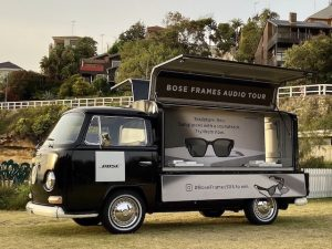 Bose Brand Activation Sydney Kombi Van Hire