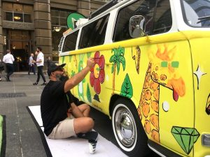 Live Art Kombi Brand Activation