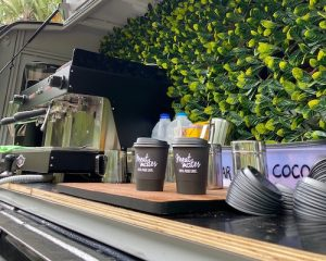Kombi Coffee Van Hire