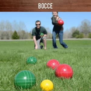 Bocce hire