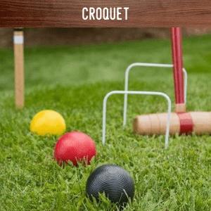 Croquet hire