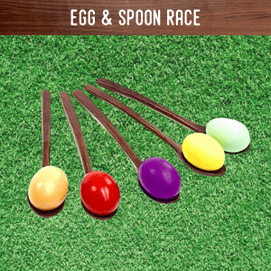 Egg & Spoon race hire