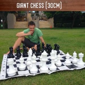 Giant Chess 30cm hire