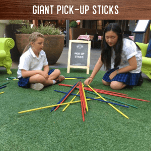 Giant Pick up sticks hire