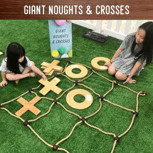 Giant noughts & crosses hire