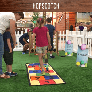 Hopscotch hire
