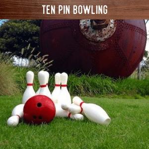 Ten Pin Bowling hire