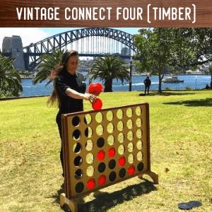 Vintage Connect 4 hire