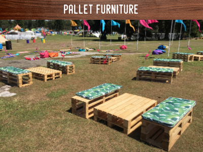 pallet furniture rental
