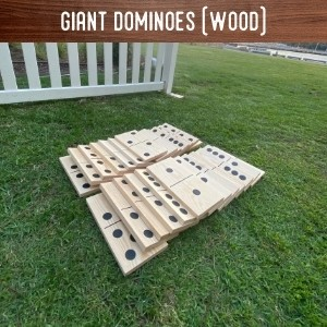 Giant Dominoes hire