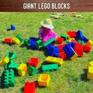 Giant Lego Blocks Hire