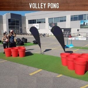 Volley Pong Hire