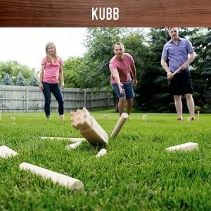 Kubb game hire